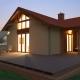 031L  Meus, Projekty domów, dom parterowy, garaż dwustanowiskowy, wizualizacja