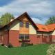 b04, bliźniak, wm02, projekty domów, elewacja tradycyjna