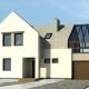 WM 01L - Bielik - projekt domu jednorodzinnego - widok od frontu - wariant