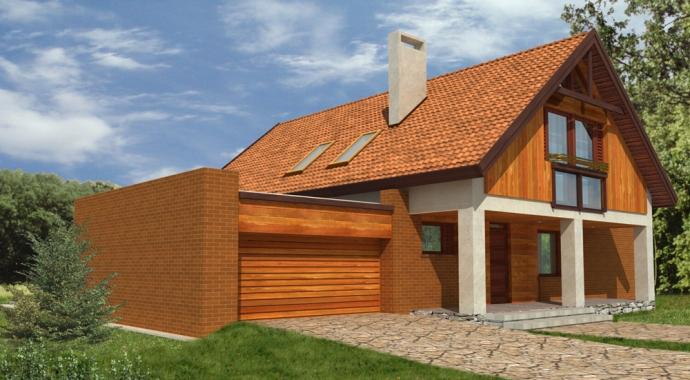Projekty domów WM 21L