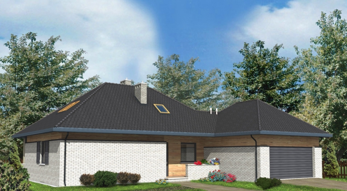 Projekty domów WM 05L