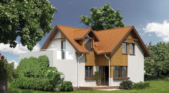 Projekty domów WM 01L Bielik