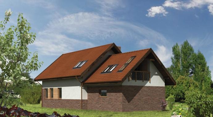 Projekty domów WM 24b