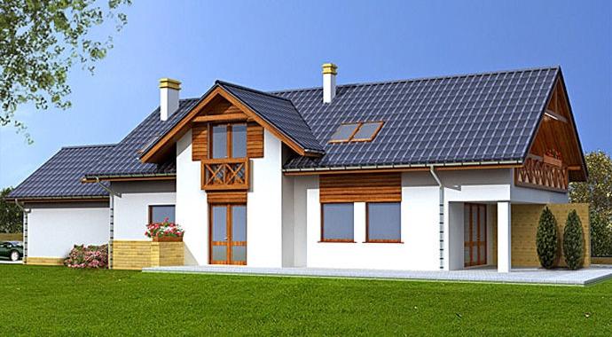 Projekty domów WM 26L